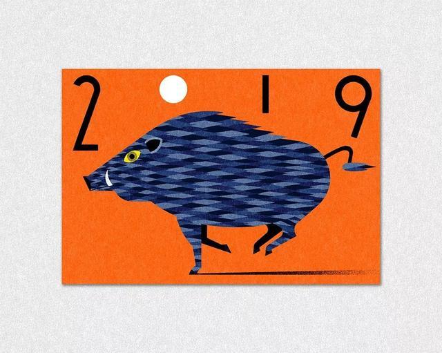 15位设计师的猪年贺卡分享,跟你平常见到的真的很不一