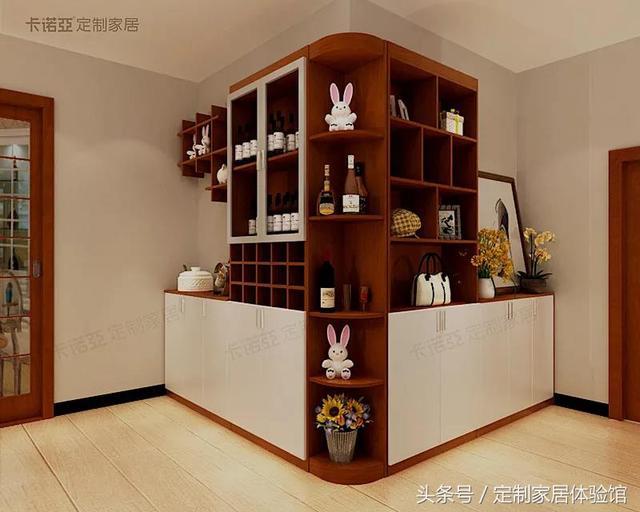 新房装修装个酒柜值得不?别苦恼了,现在流行这么做,好看又实用图片