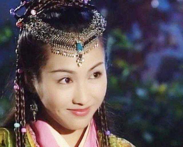 无法复制的古装女神:紫霞的眨眼,赵敏的酒窝,还有她的图片