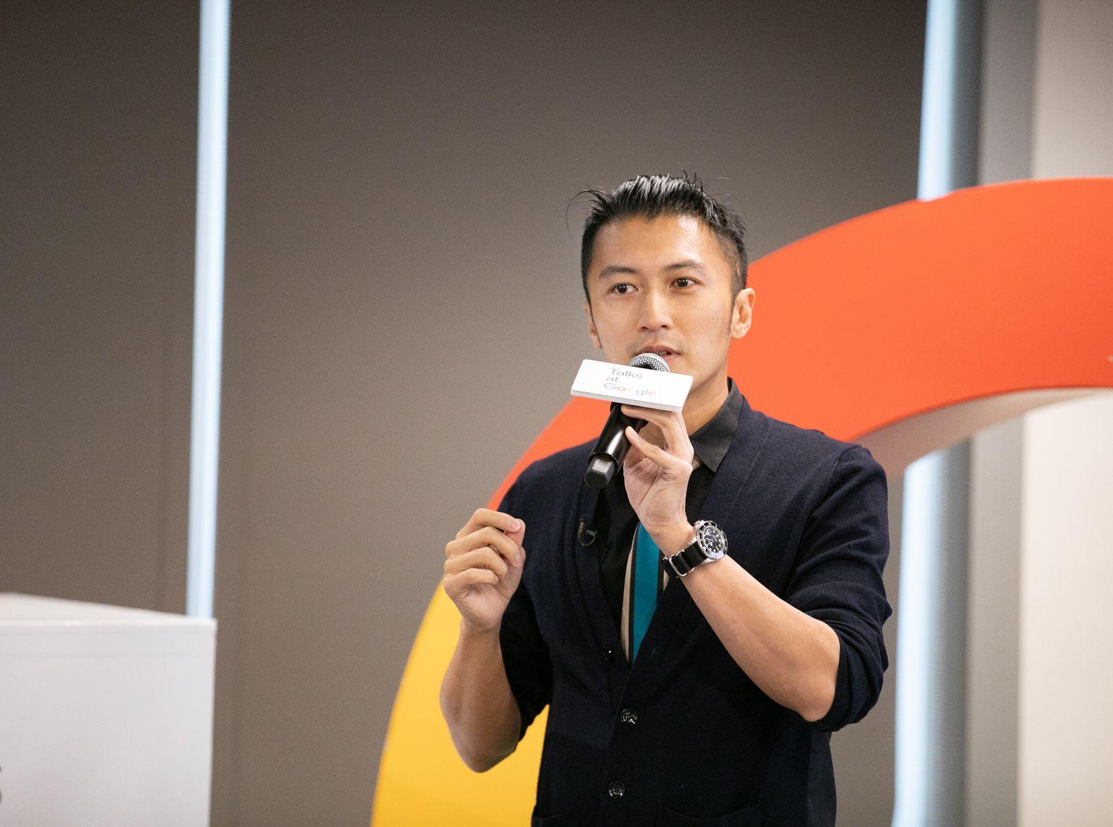 谢霆锋现身Google香港讲Talk,分享成功之道:要识time