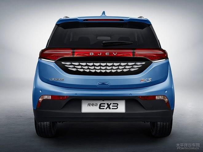 北汽新能源EX3官图发布,搭160kW电动机即将上市!