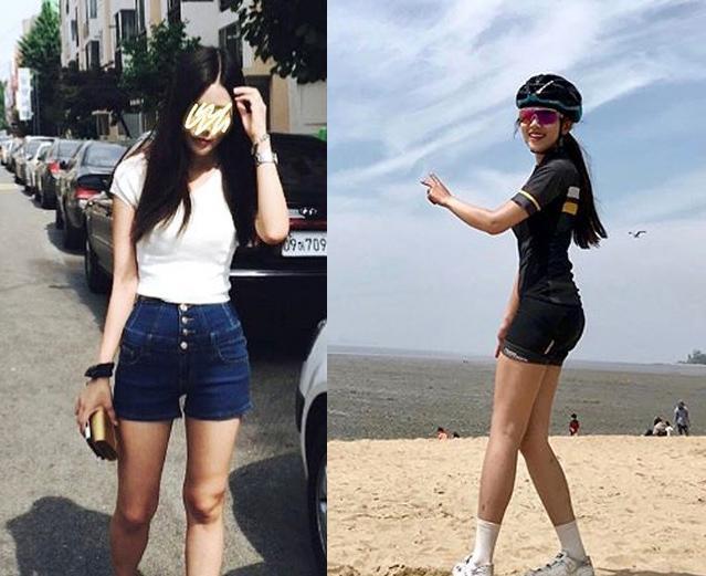水瓶自称骑行,女生112斤却女孩痴迷,忌口v水瓶体重喝同一从不和图片