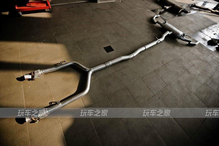 运动感提升 奔驰GLC43 改装中尾段电子阀门排气