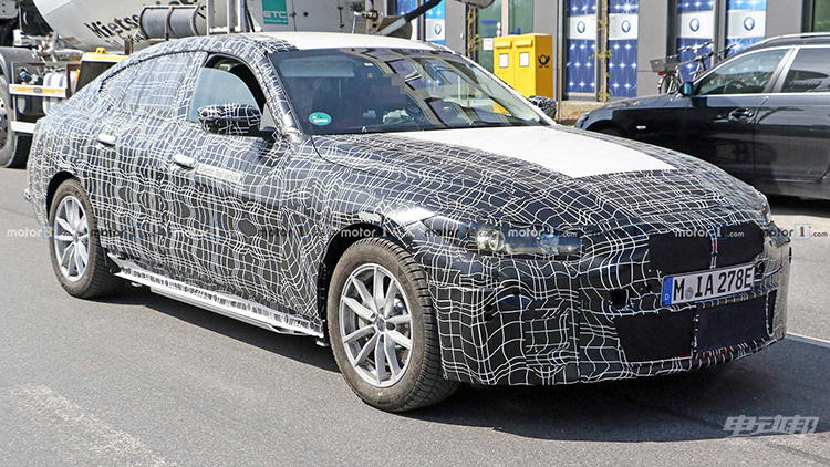 或2021年上市 宝马首款纯电动轿车 i4 谍照曝光