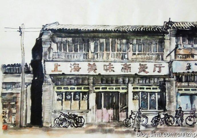 回忆:美味斋的阳春面和生煎包(图)