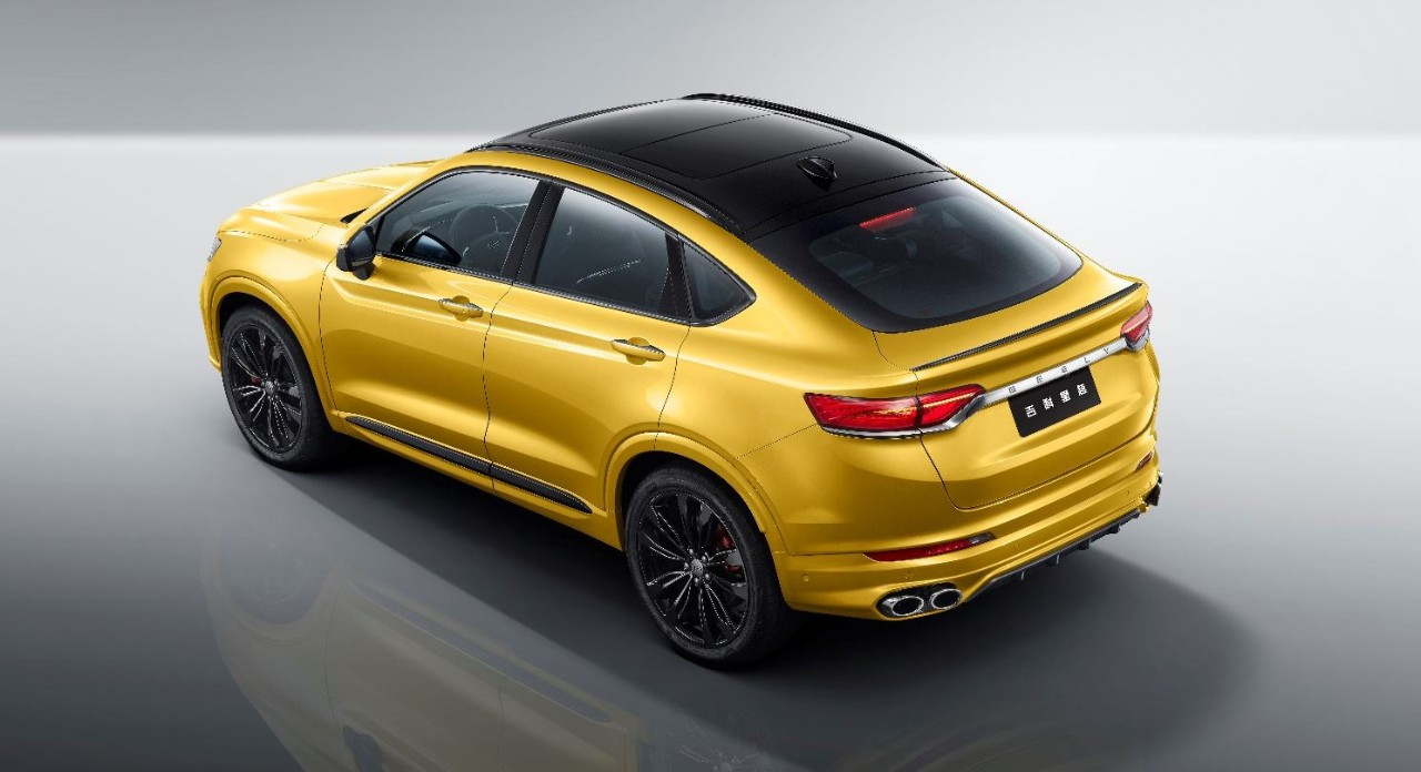 都是X6带节奏,轿跑SUV成为新潮流,盘点中国品牌轿跑SUV