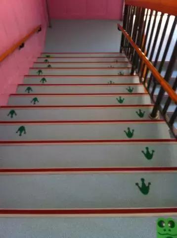 小小传承人:幼儿园创意楼梯环创,孩子们超喜欢!