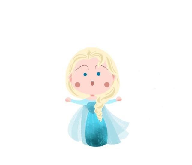 樱桃小丸子变成迪士尼公主:艾莎像白发老奶奶,花木兰男扮女装