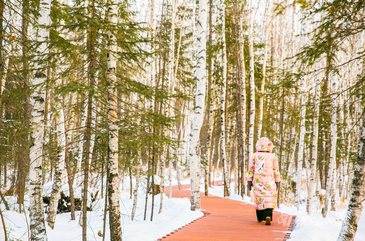 中国最北的县,一群南方人在零下20多度玩嗨了