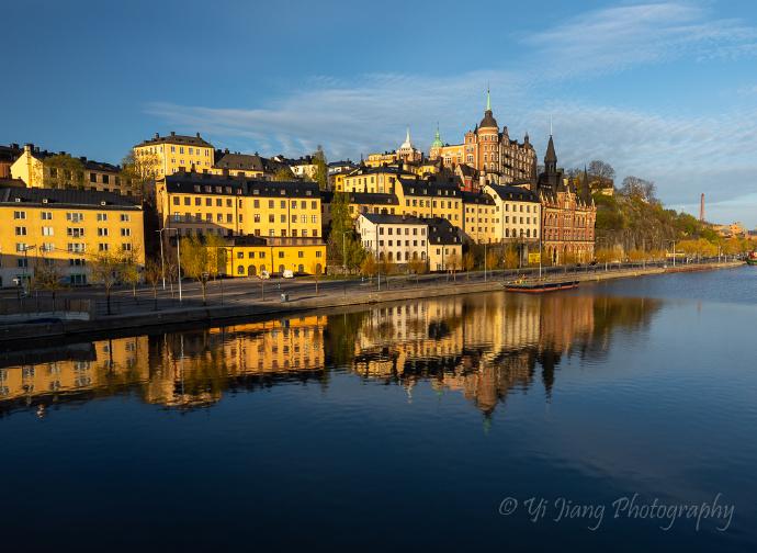 瑞典斯德哥尔摩打卡游