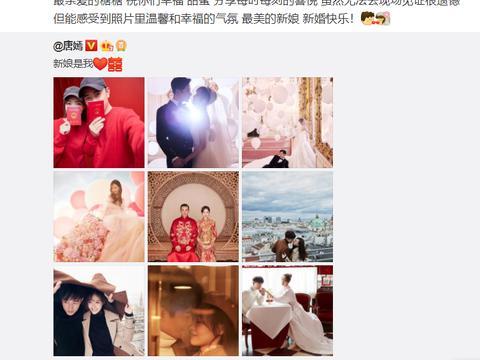 刘亦菲祝福唐嫣,但这张合照却在韩国火了,韩国网友:刘亦菲一般