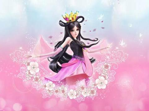 叶罗丽美少女壁纸,灵公主手拿小树枝,莫纱带上王冠秒变公主