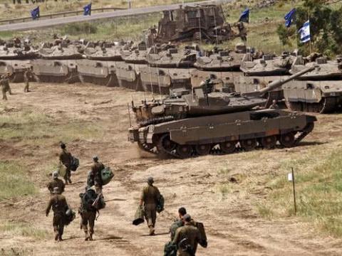 军事资讯_军事资讯:以色列装甲部队集结,大战或将爆发