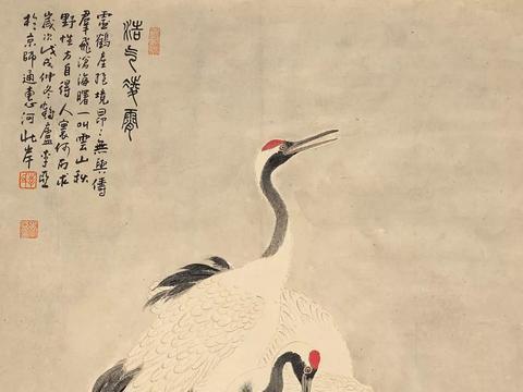 清秘阁:瑞鹤仙影——李亚绘画新作展