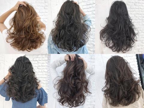 长发发型这样烫,随意吹干都好看图片