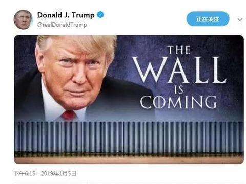 特朗普铁了心建墙 混凝土不行用钢材