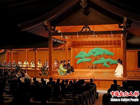 能乐《天地人》在日本国立能乐堂公演