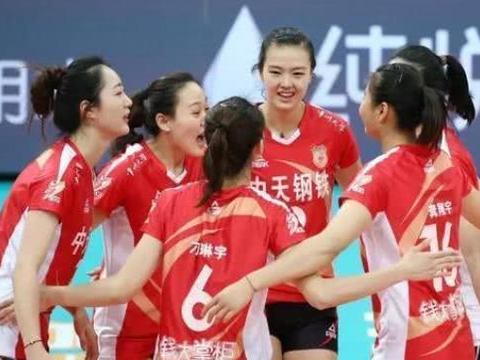 中国女排超联赛,江苏队大获全胜,球迷:难道是天津队故意让球?
