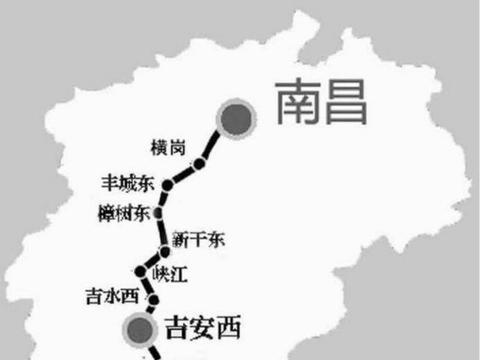 江西这个县厉害了,不仅高铁站在建,现在又迎来507亿高铁项目