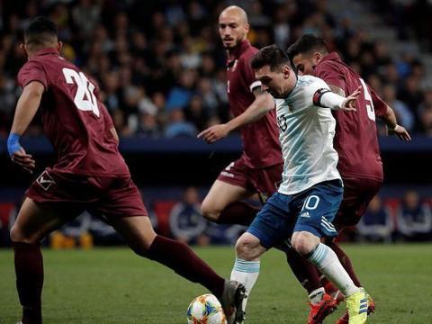 """输球又""""输""""人!阿根廷队官宣梅西受伤,想跟武磊过招要等下赛季"""
