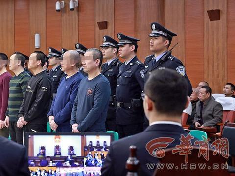 陕西奥凯电缆案件8人数罪并罚 王志伟一审被判无期
