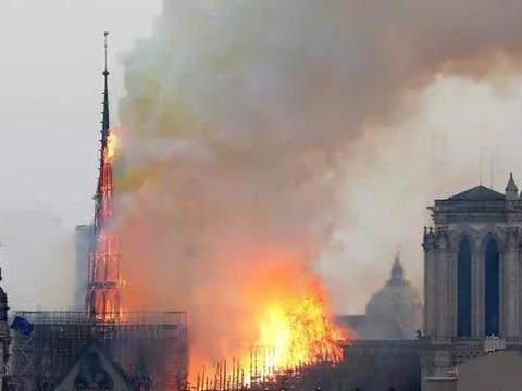 六小龄童杨祐宁等明星发声,悼念巴黎圣母院大火