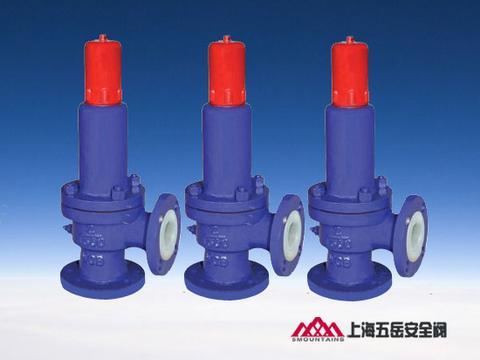 上海五岳准确定位市场,衬氟安全阀销量喜人