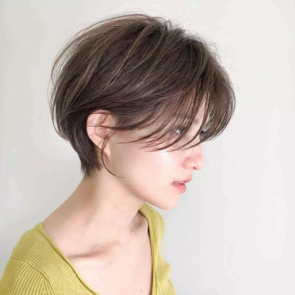 梨形脸适合什么短发发型?