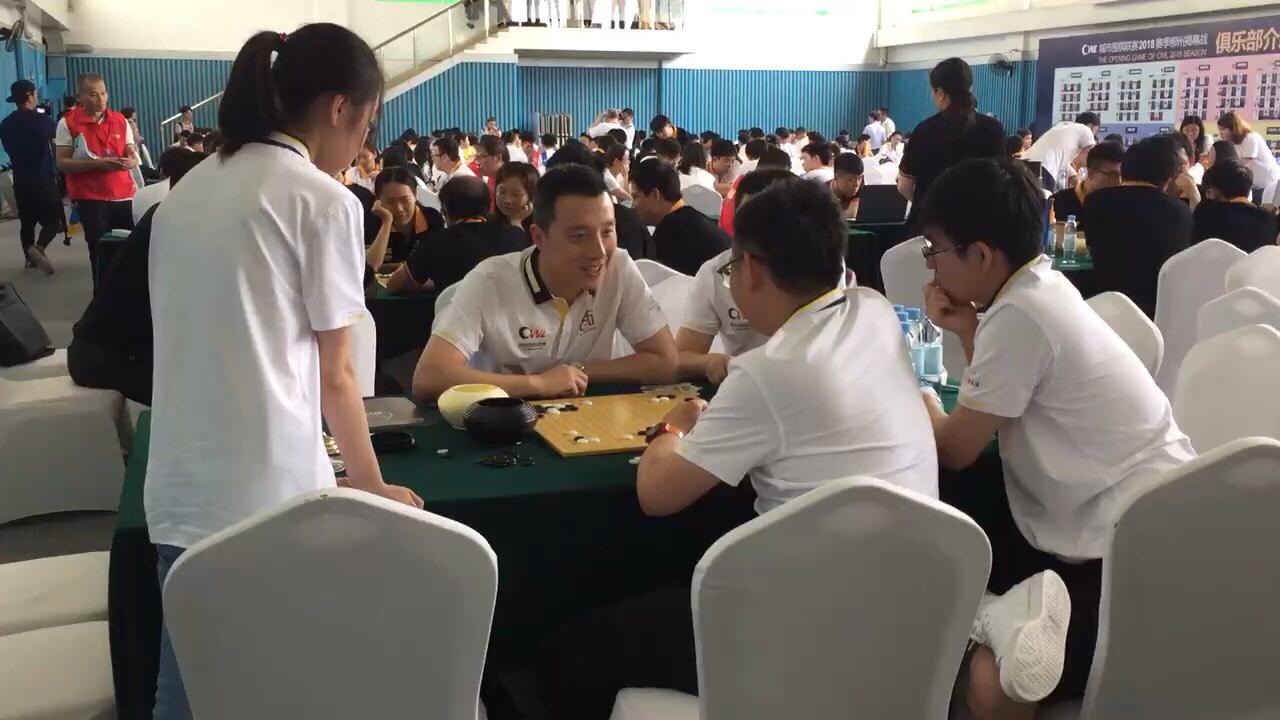 视频-城市围棋联赛柳州打响 古力分析棋局谈笑风声
