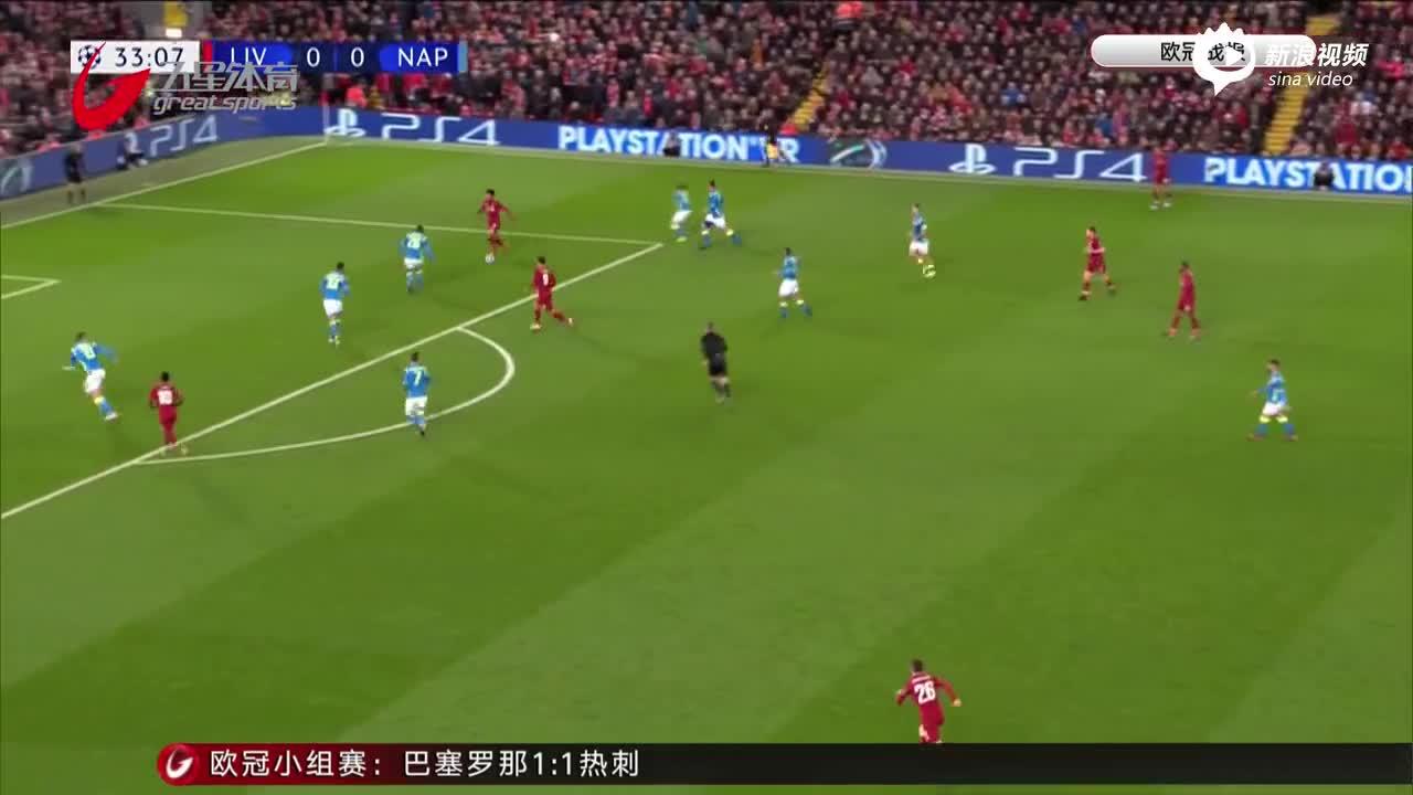 """视频-萨拉赫进球战胜那不勒斯 利物浦""""惊险上岸"""""""