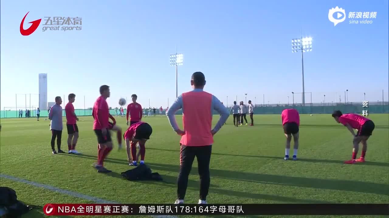 上港冬训结束全力备战超级杯