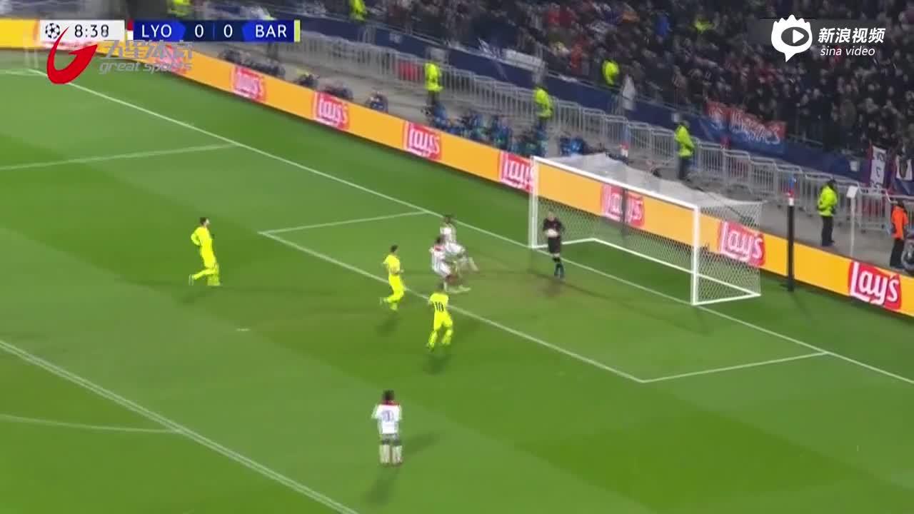视频-欧冠战报:33脚射门0进球 巴萨客场闷平里昂