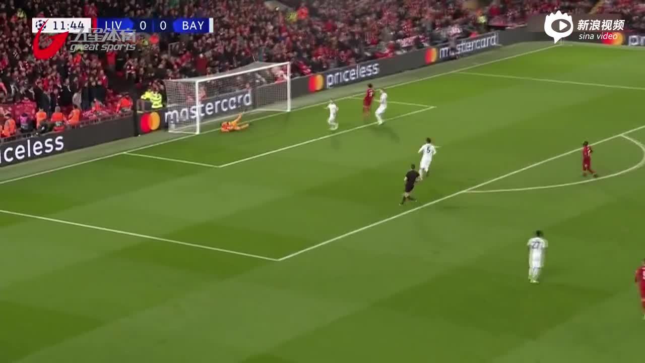 视频-欧冠战报:场面热闹进球难 利物浦0比0平拜仁