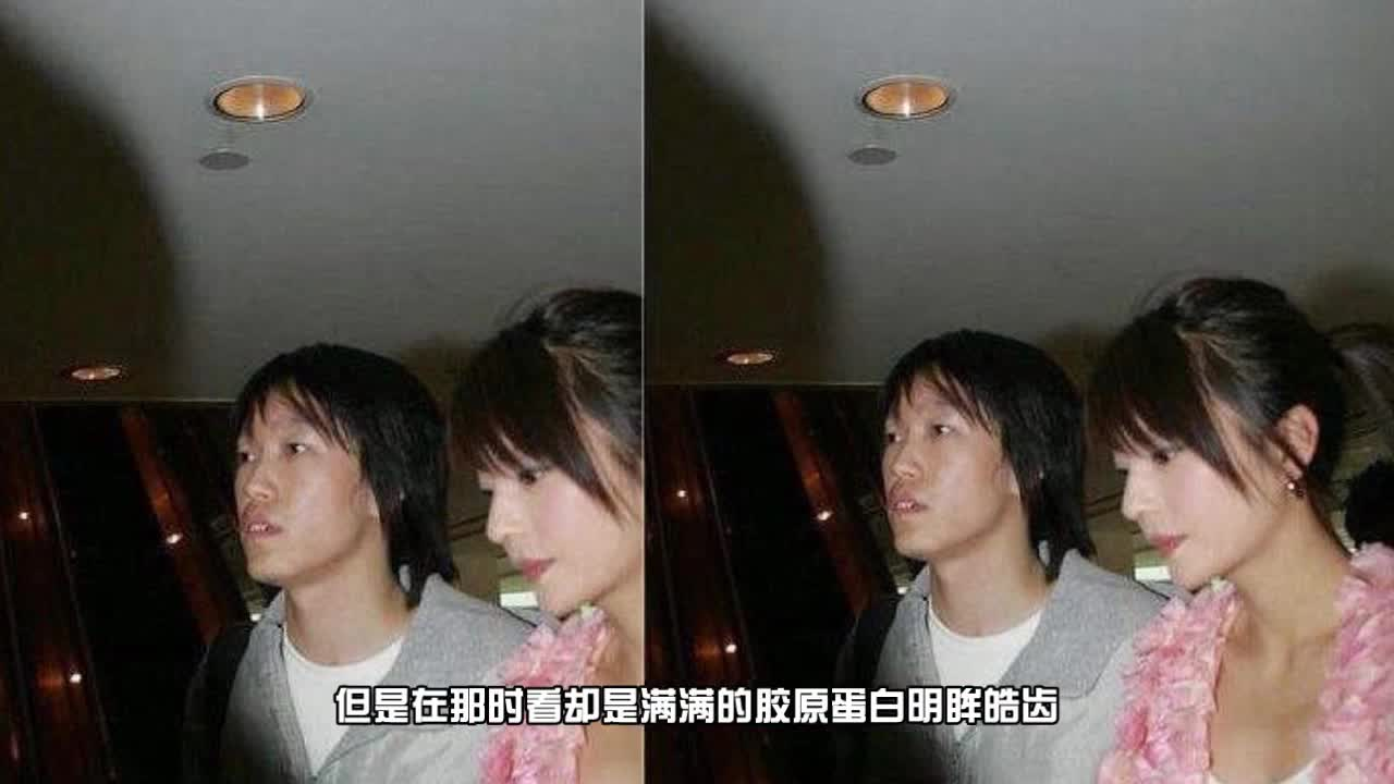 """看了赵薇年轻时的照片再看杨颖照片 黄晓明眼光真""""毒"""""""