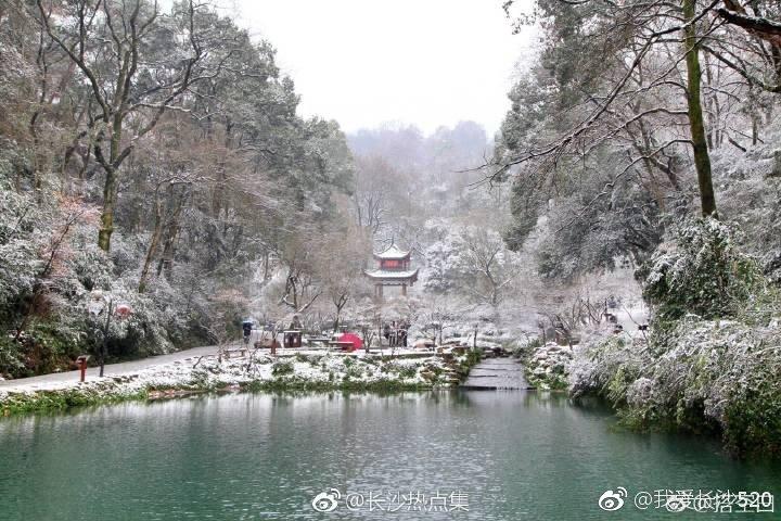2019岳麓山第一场雪