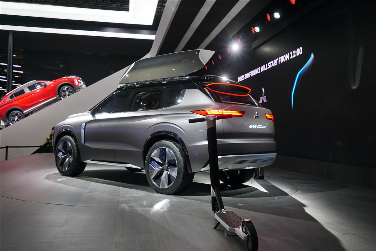 上海车展 | 三菱e-Yi概念车亚洲首发