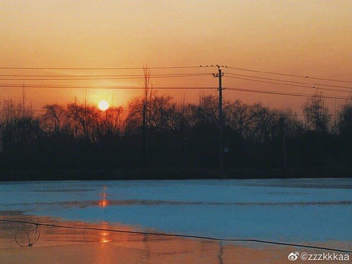 日出是希望 日落是向往