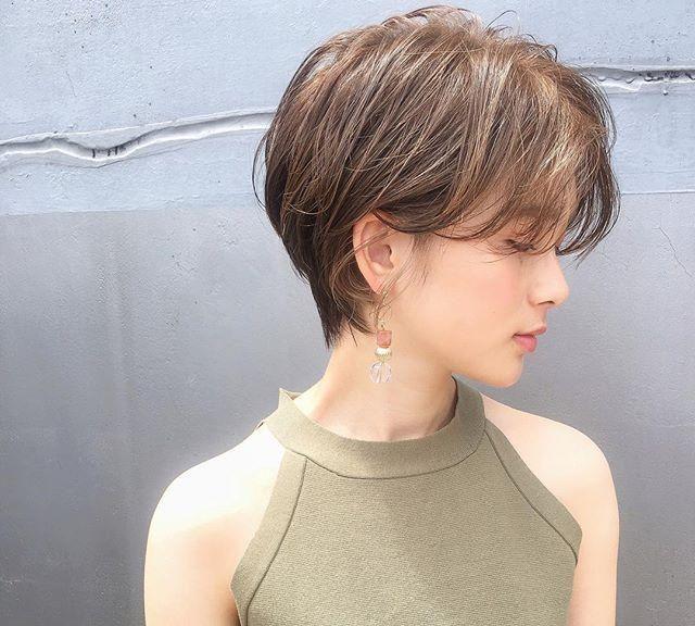 """2019""""靓丽短发""""发型12款,让你清爽靓丽一整年图片"""