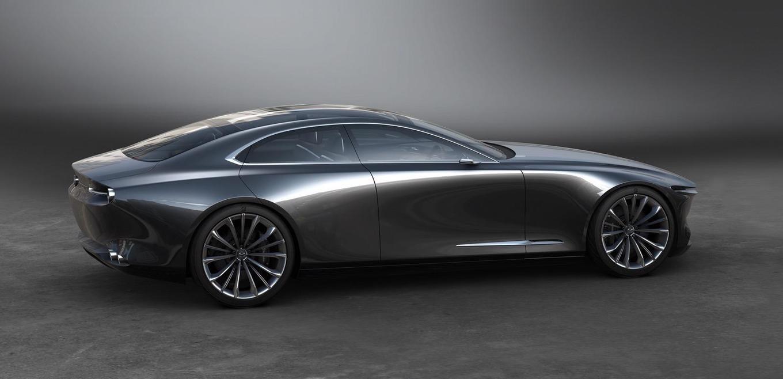 """诠释极简设计精要,""""MAZDA VISION COUPE""""概念车将现身上海"""