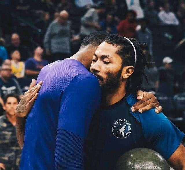 詹姆斯与罗斯拥抱, 这一画面让多少人都看湿了图片