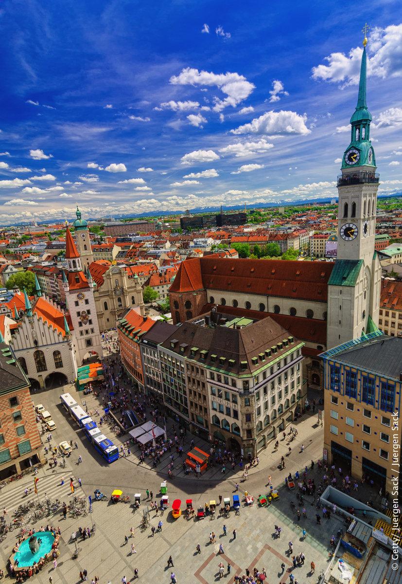 为德国城市拍写真