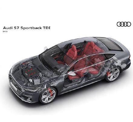 全新奥迪S7 Sportback官图发布,外观优雅动力不俗