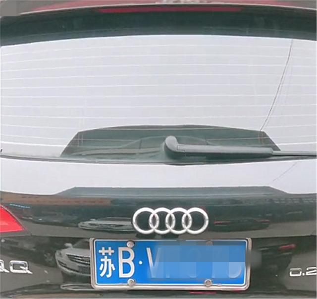 """38万Q5尾标改""""QQ"""",本不会注意,但右侧标识改后更吸睛!"""