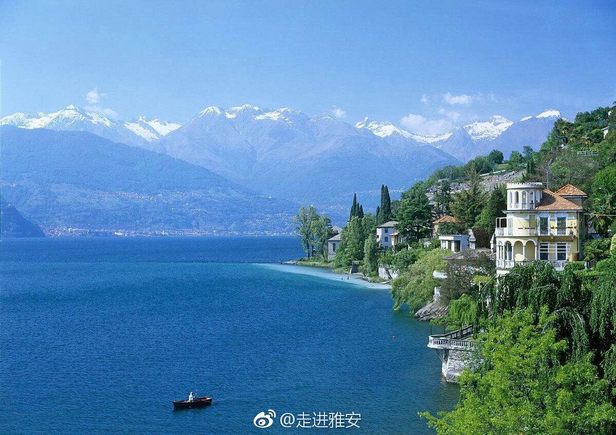 美景寻踪之意大利科莫湖