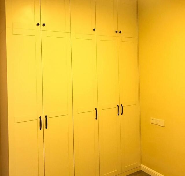 《新房终于装修好了,正在通风中,美观又实用!》
