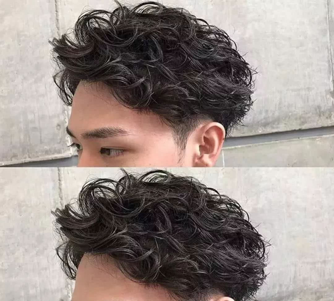 男生泡面卷发型了解一下图片