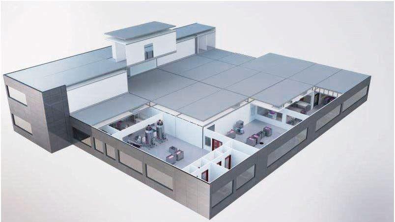 模块化自动化 可移动GMP洁净室