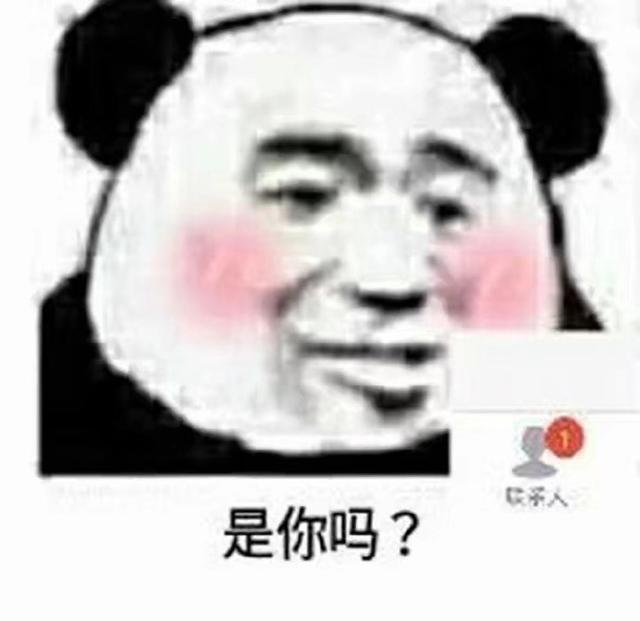 熊猫头搞笑图片22张:此时一名路过钱的网友没有女人高潮的动态包表情表情图片