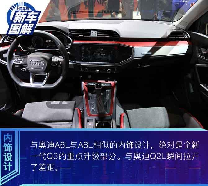 """2019上海车展 """"小号Q8""""震撼来袭 图解一汽-大众奥迪全新一代Q3"""