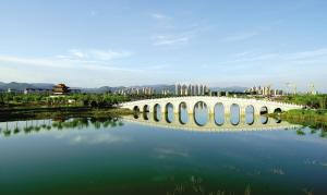 整体框架已基本完成 蓟州人民公园预计8月开放